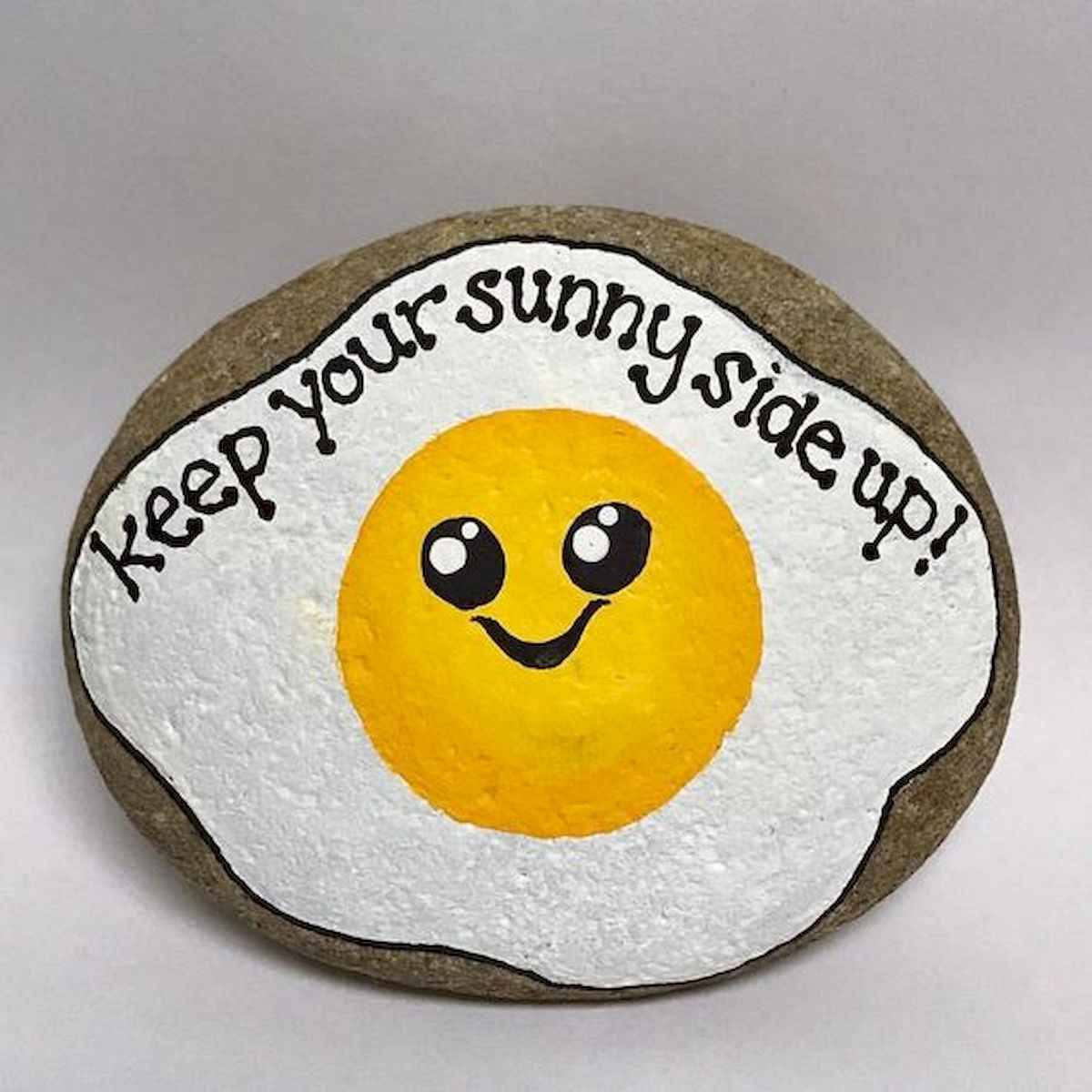35 Awesome Painted Rocks Quotes Design Ideas (16)