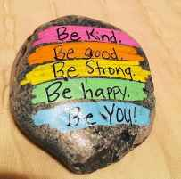 35 Awesome Painted Rocks Quotes Design Ideas (20)