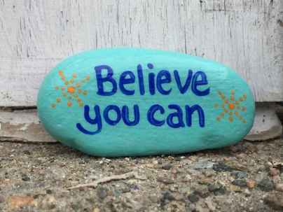 35 Awesome Painted Rocks Quotes Design Ideas (25)