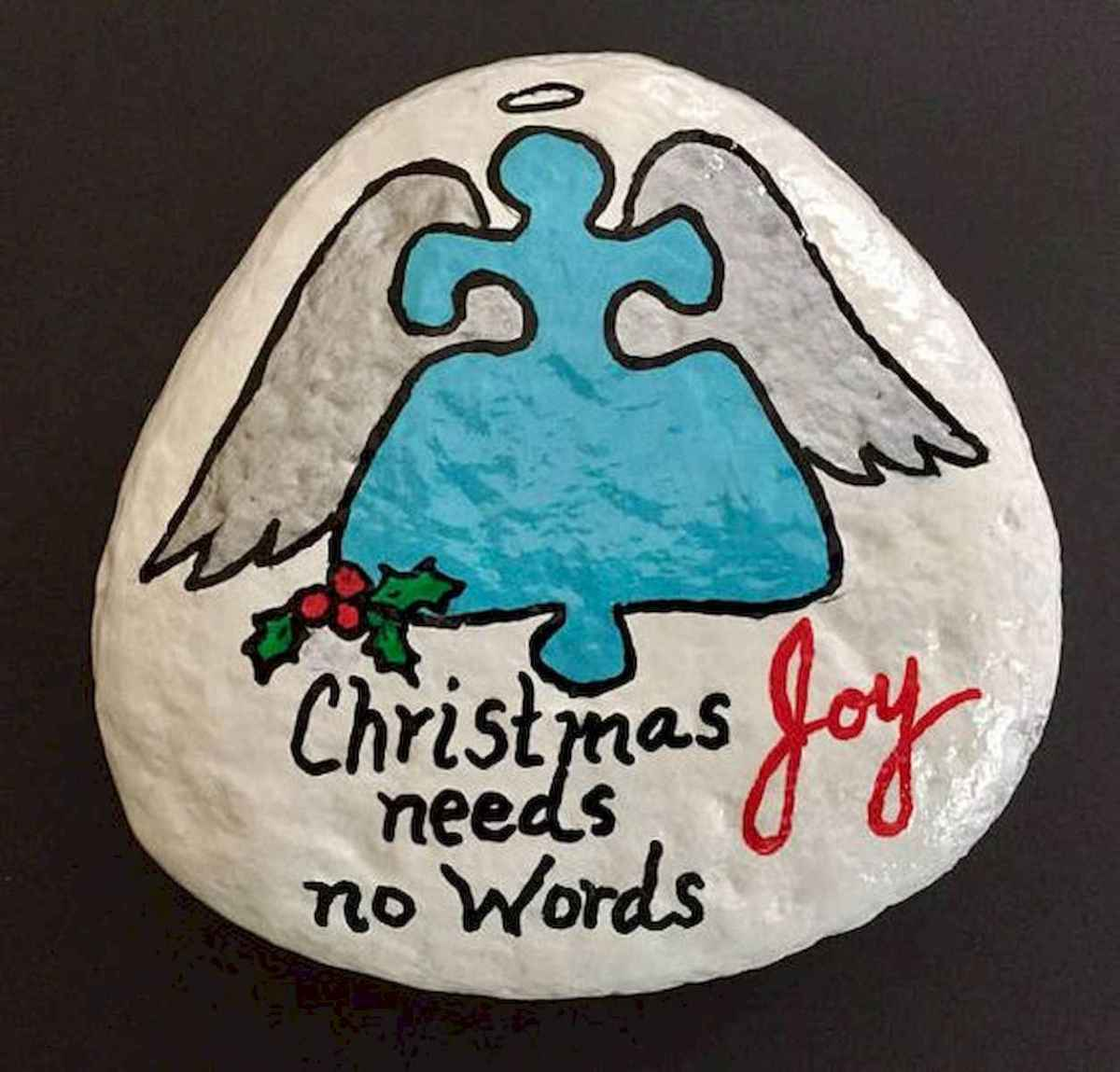 35 Awesome Painted Rocks Quotes Design Ideas (30)