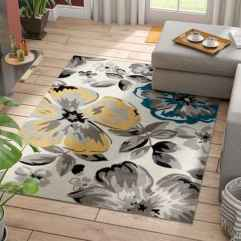 35 Awesome Rug Living Room Ideas (31)