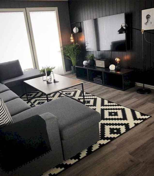 35 Awesome Rug Living Room Ideas (35)