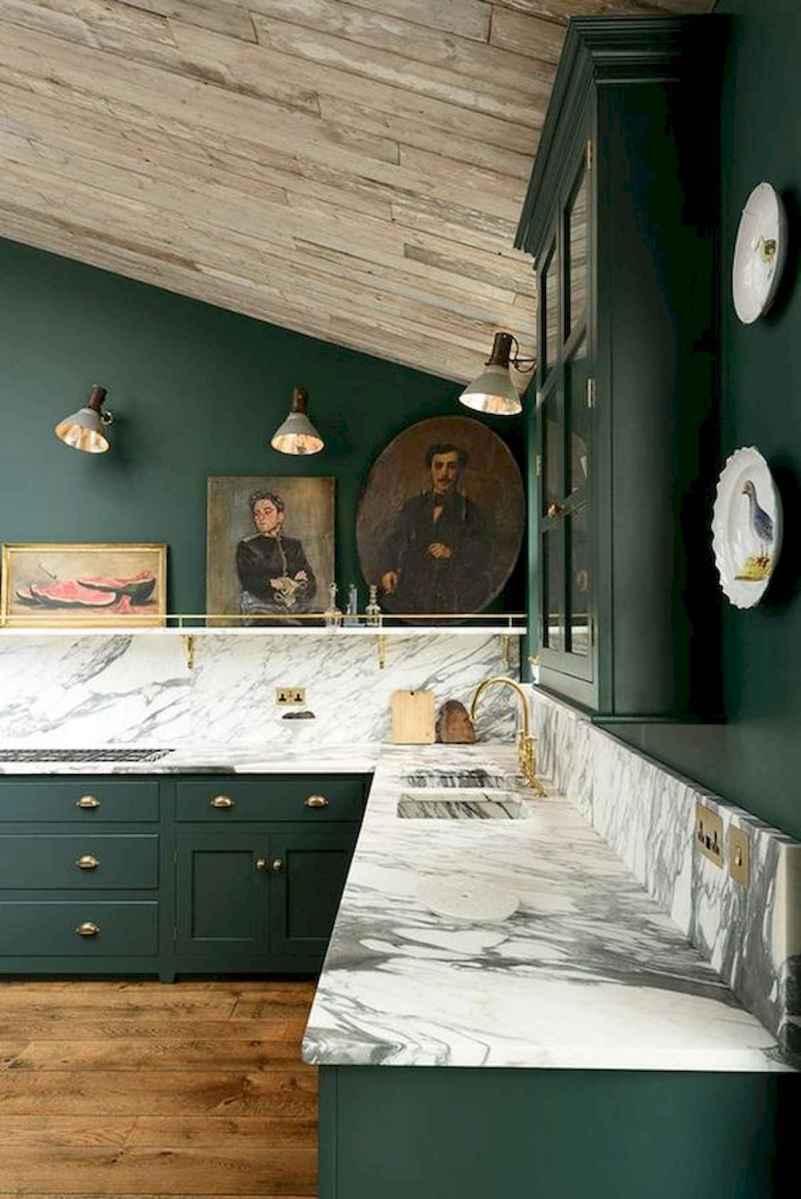 17 Best Green Kitchen Cabinets Design Ideas (13)
