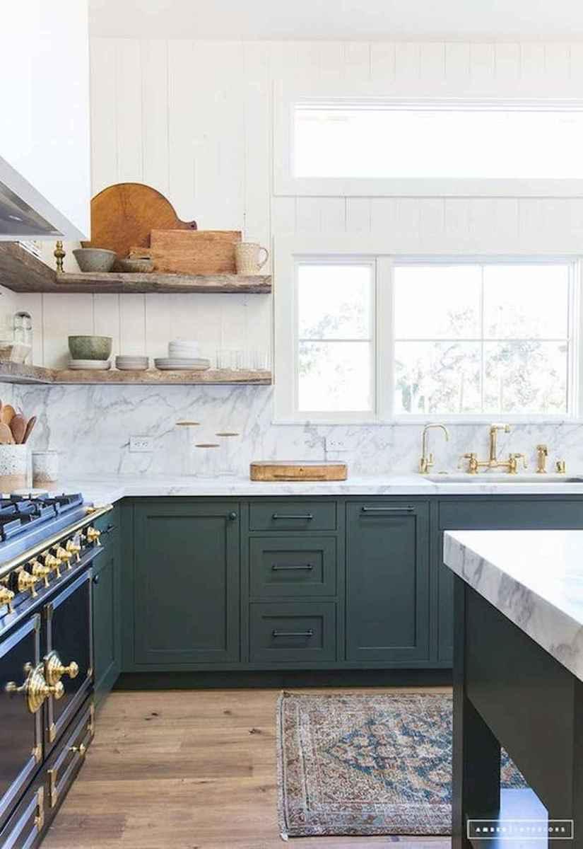 17 Best Green Kitchen Cabinets Design Ideas (7)