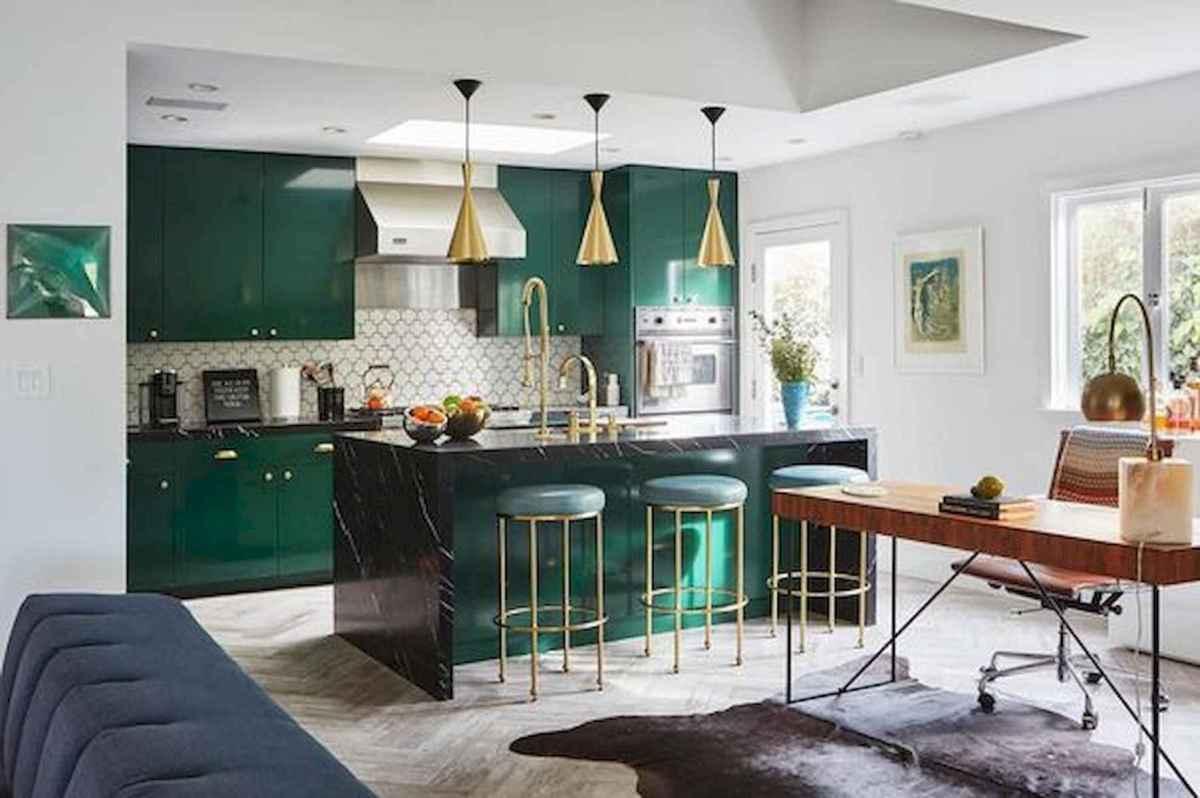 17 Best Green Kitchen Cabinets Design Ideas (8)