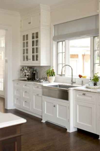 40 Best Farmhouse Kitchen Cabinets Design Ideas (22)