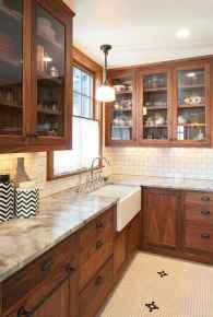 40 Best Farmhouse Kitchen Cabinets Design Ideas (31)