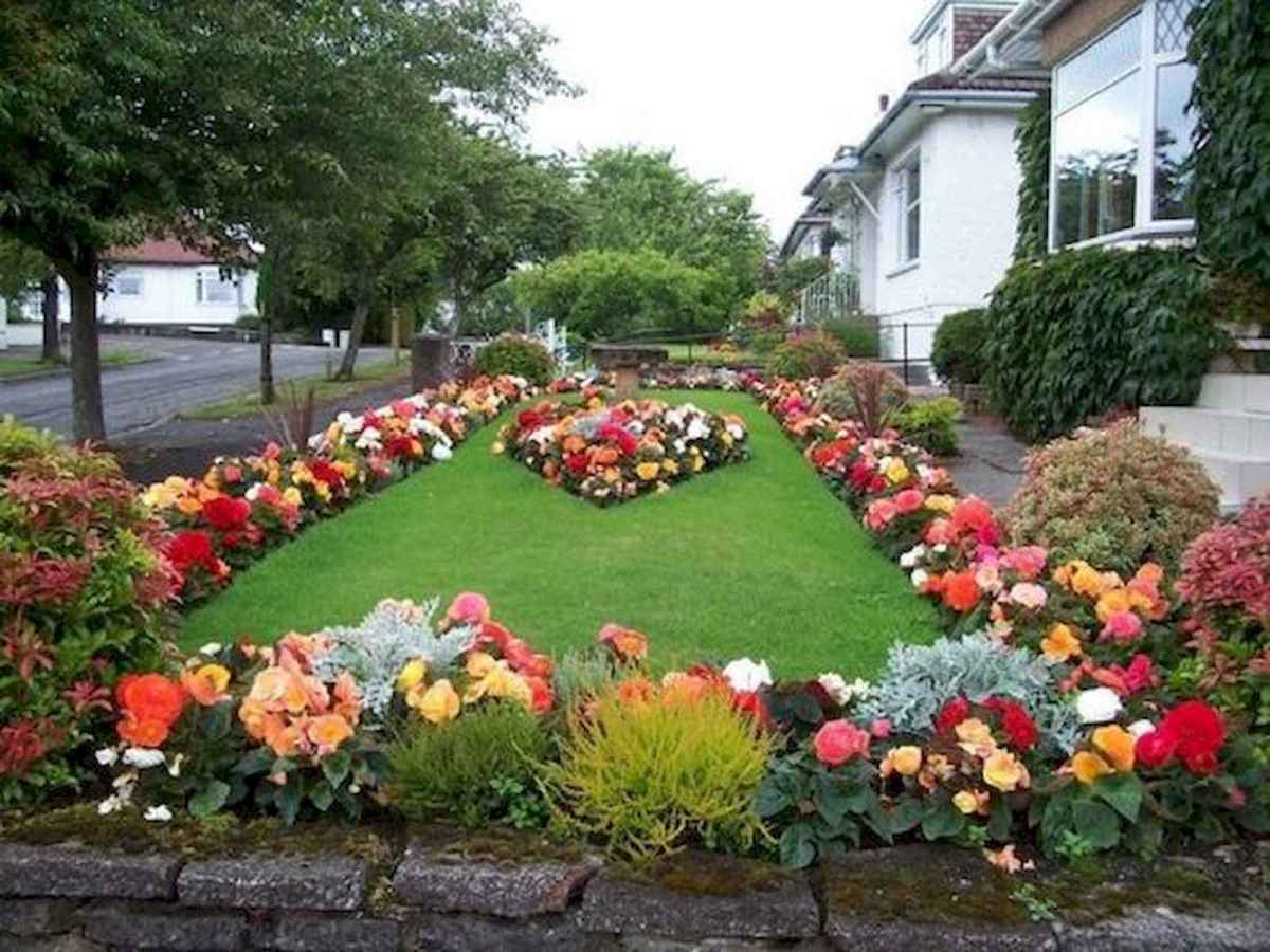 40 Cool Front Yard Garden Landscaping Design Ideas And Remodel (12)