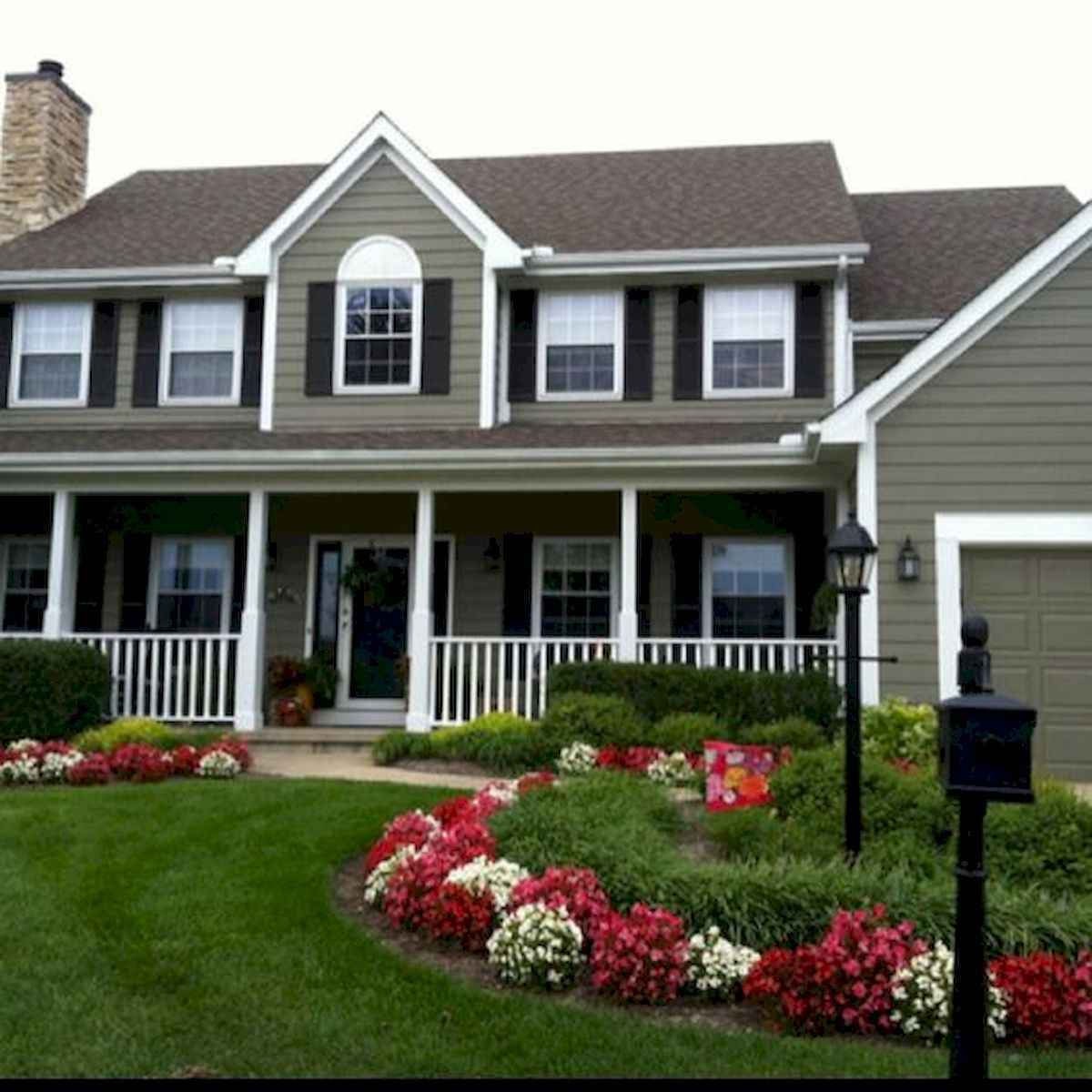 40 Cool Front Yard Garden Landscaping Design Ideas And Remodel (15)
