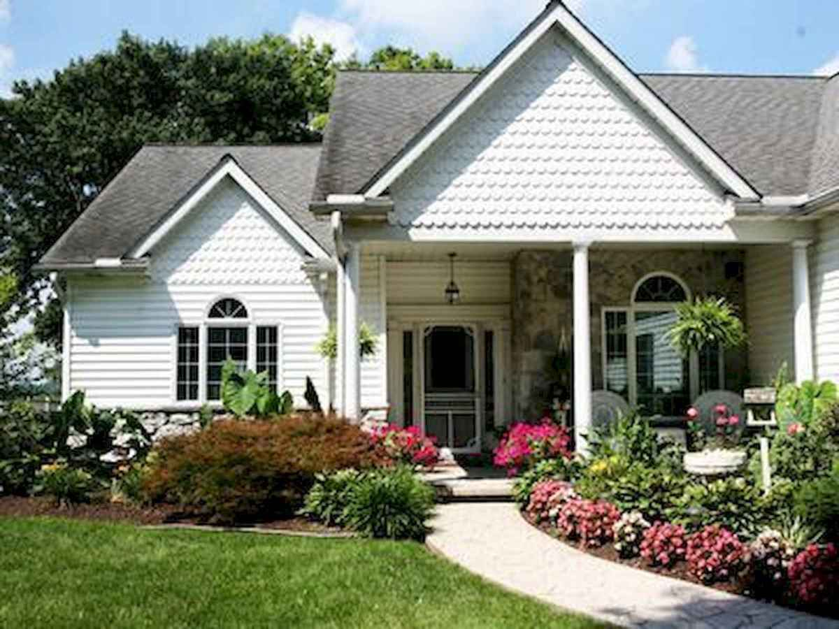 40 Cool Front Yard Garden Landscaping Design Ideas And Remodel (18)