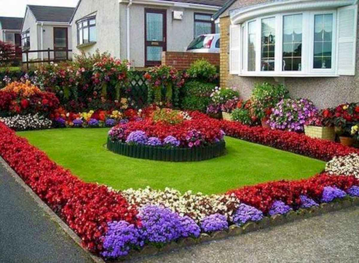 40 Cool Front Yard Garden Landscaping Design Ideas And Remodel (23)
