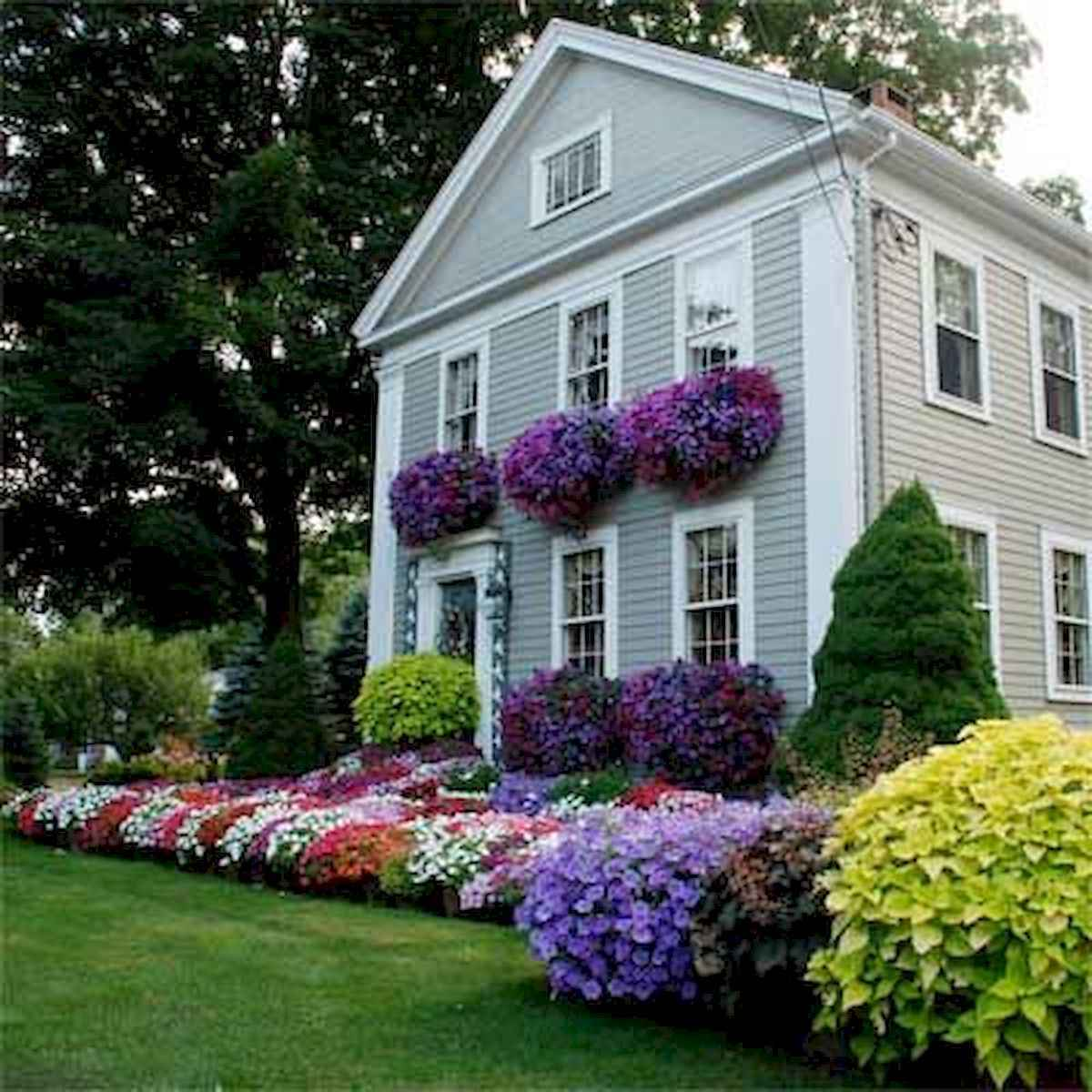 40 Cool Front Yard Garden Landscaping Design Ideas And Remodel (28)