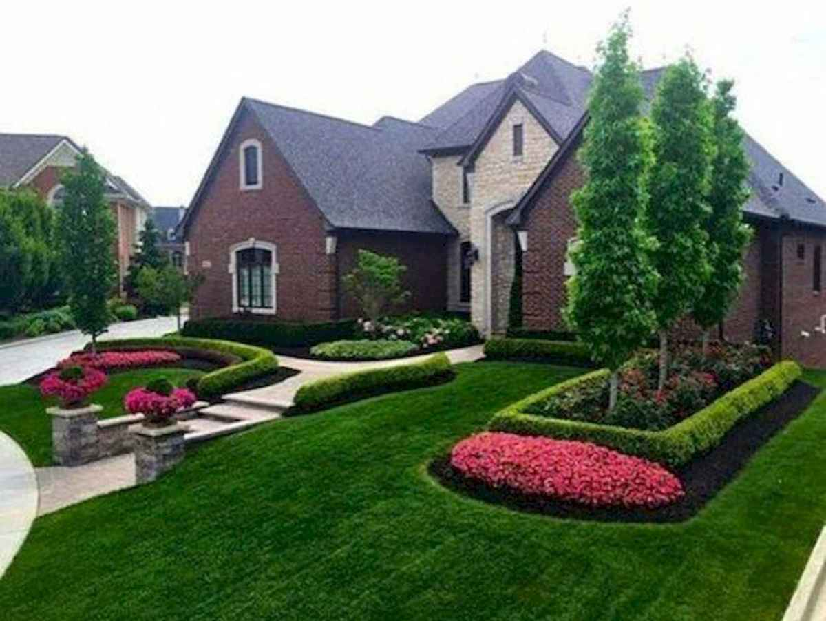 40 Cool Front Yard Garden Landscaping Design Ideas And Remodel (34)