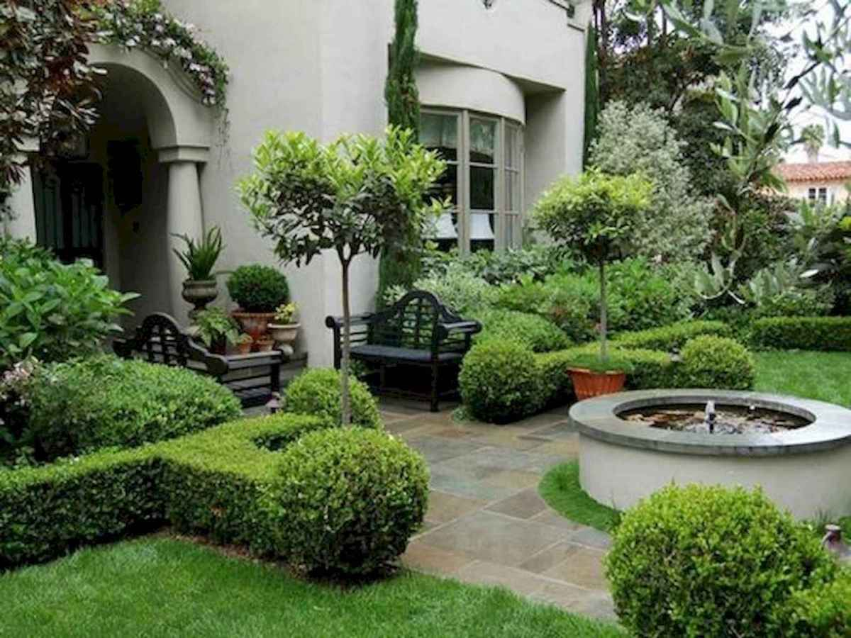 40 Cool Front Yard Garden Landscaping Design Ideas And Remodel (38)
