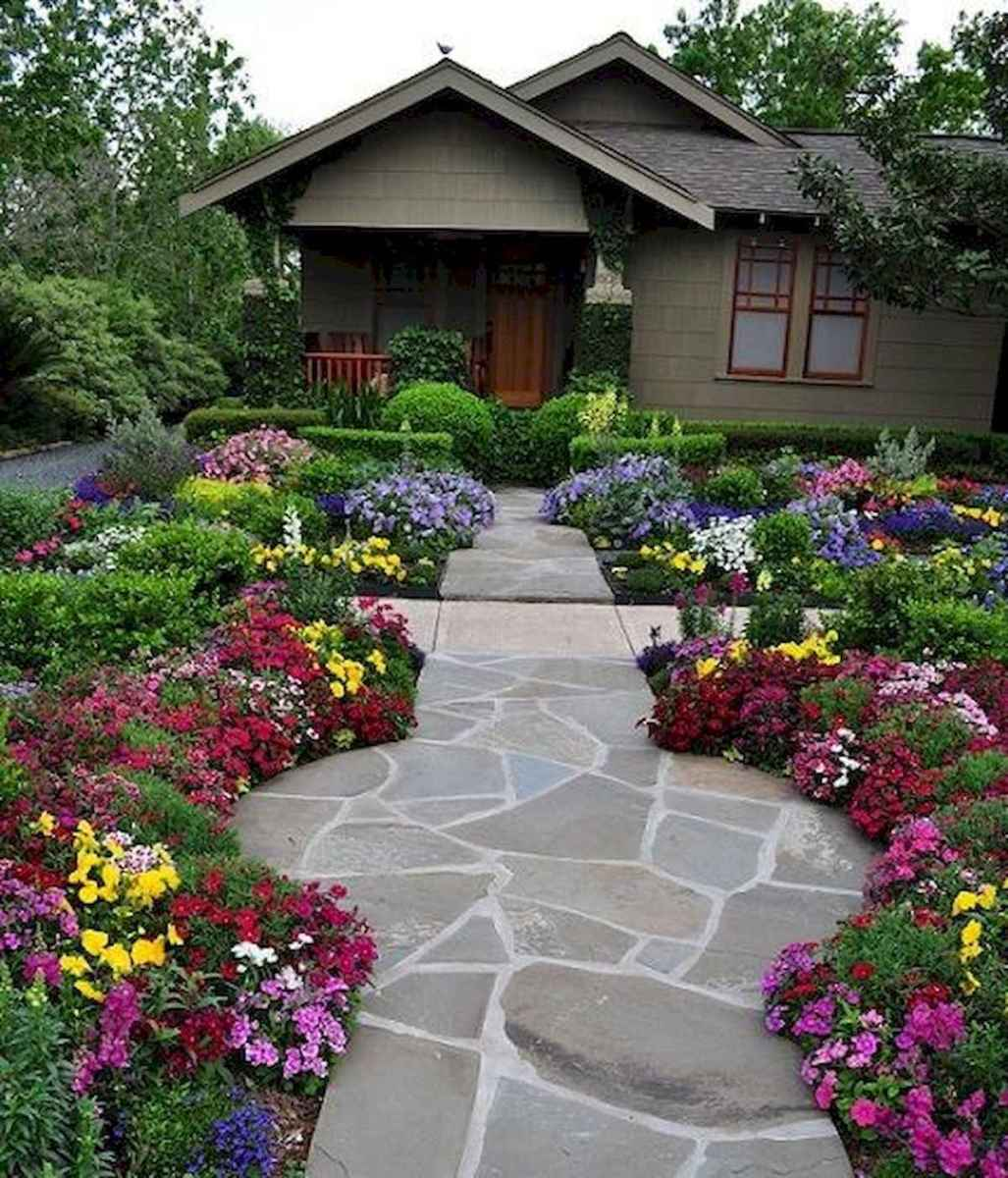 40 Cool Front Yard Garden Landscaping Design Ideas And Remodel (6)