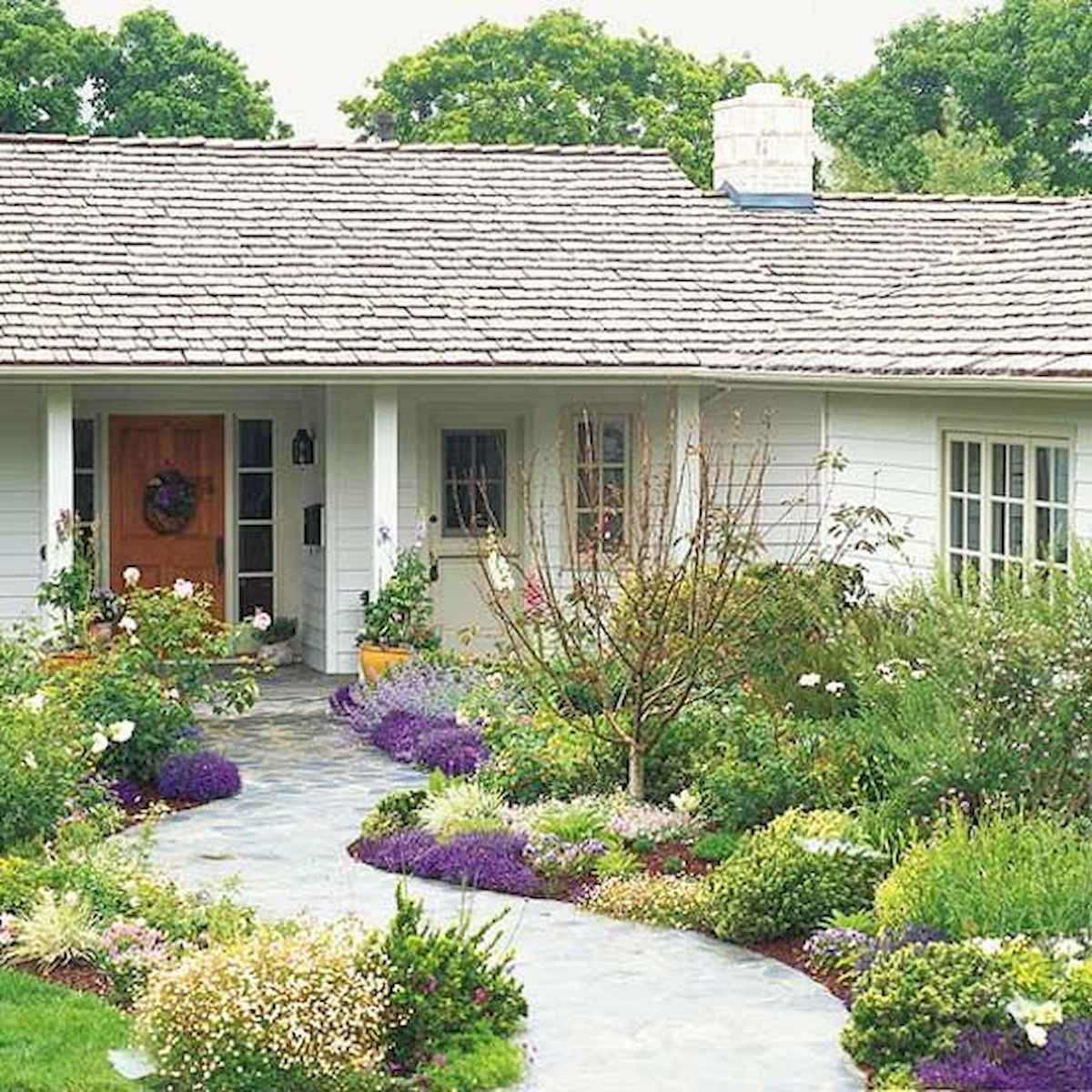 40 Cool Front Yard Garden Landscaping Design Ideas And Remodel (8)