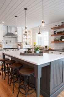 50 Best Modern Farmhouse Kitchen Island Decor Ideas (11)