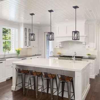 50 Best Modern Farmhouse Kitchen Island Decor Ideas (14)