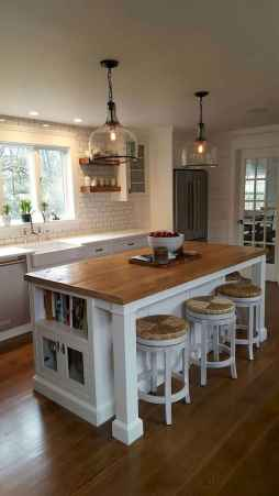 50 Best Modern Farmhouse Kitchen Island Decor Ideas (21)