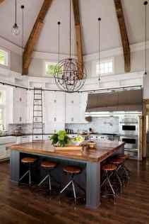50 Best Modern Farmhouse Kitchen Island Decor Ideas (32)