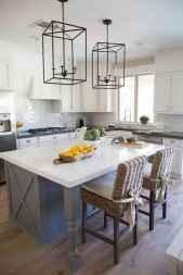 50 Best Modern Farmhouse Kitchen Island Decor Ideas (37)