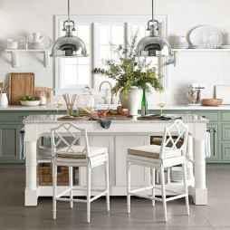50 Best Modern Farmhouse Kitchen Island Decor Ideas (38)