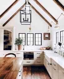 50 Best Modern Farmhouse Kitchen Island Decor Ideas (39)