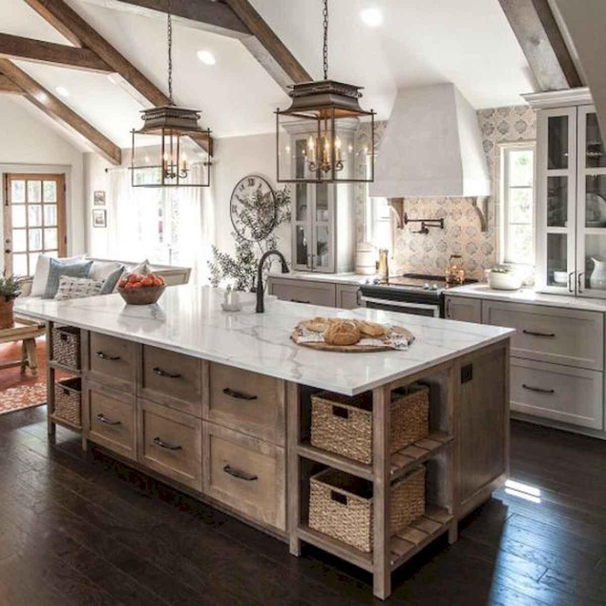 50 Best Modern Farmhouse Kitchen Island Decor Ideas (4