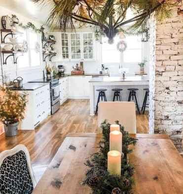 50 Best Modern Farmhouse Kitchen Island Decor Ideas (44)