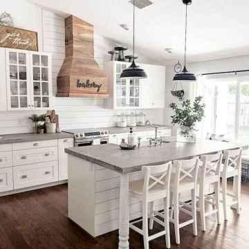 50 Best Modern Farmhouse Kitchen Island Decor Ideas (6)