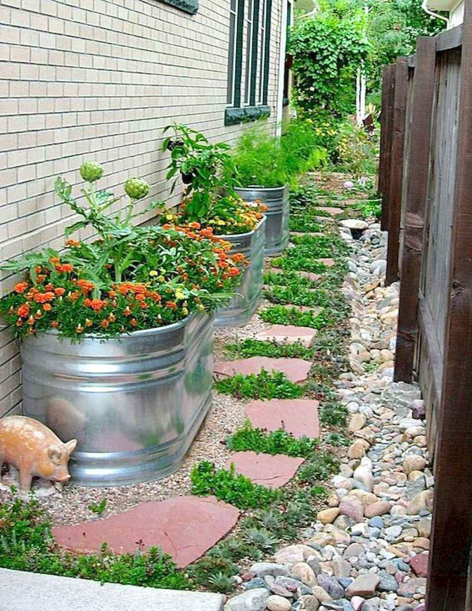 50 Fabulous Side Yard Garden Design Ideas And Remodel (44)