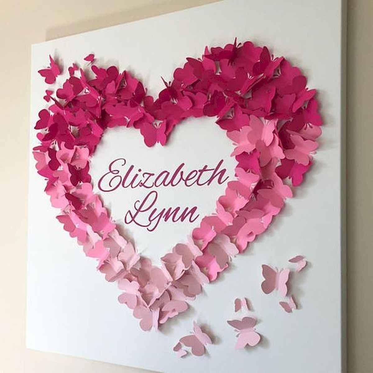 100 Easy DIY Valentines Decorations Ideas (40)