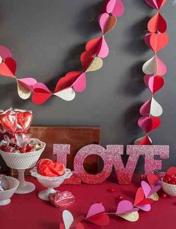 100 Easy DIY Valentines Decorations Ideas (72)
