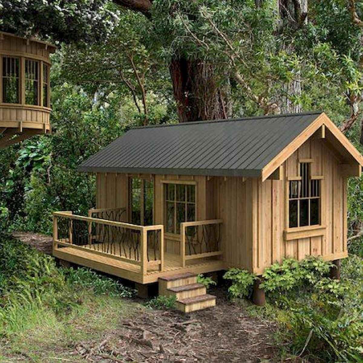 40 Best Log Cabin Homes Plans One Story Design Ideas (15)