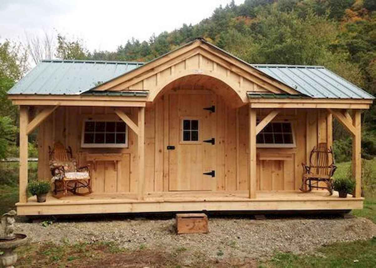 40 Best Log Cabin Homes Plans One Story Design Ideas (21)