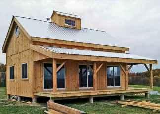 40 Best Log Cabin Homes Plans One Story Design Ideas (5)
