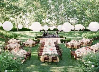 44 Stunning Backyard Wedding Decor Ideas On A Budget (20)