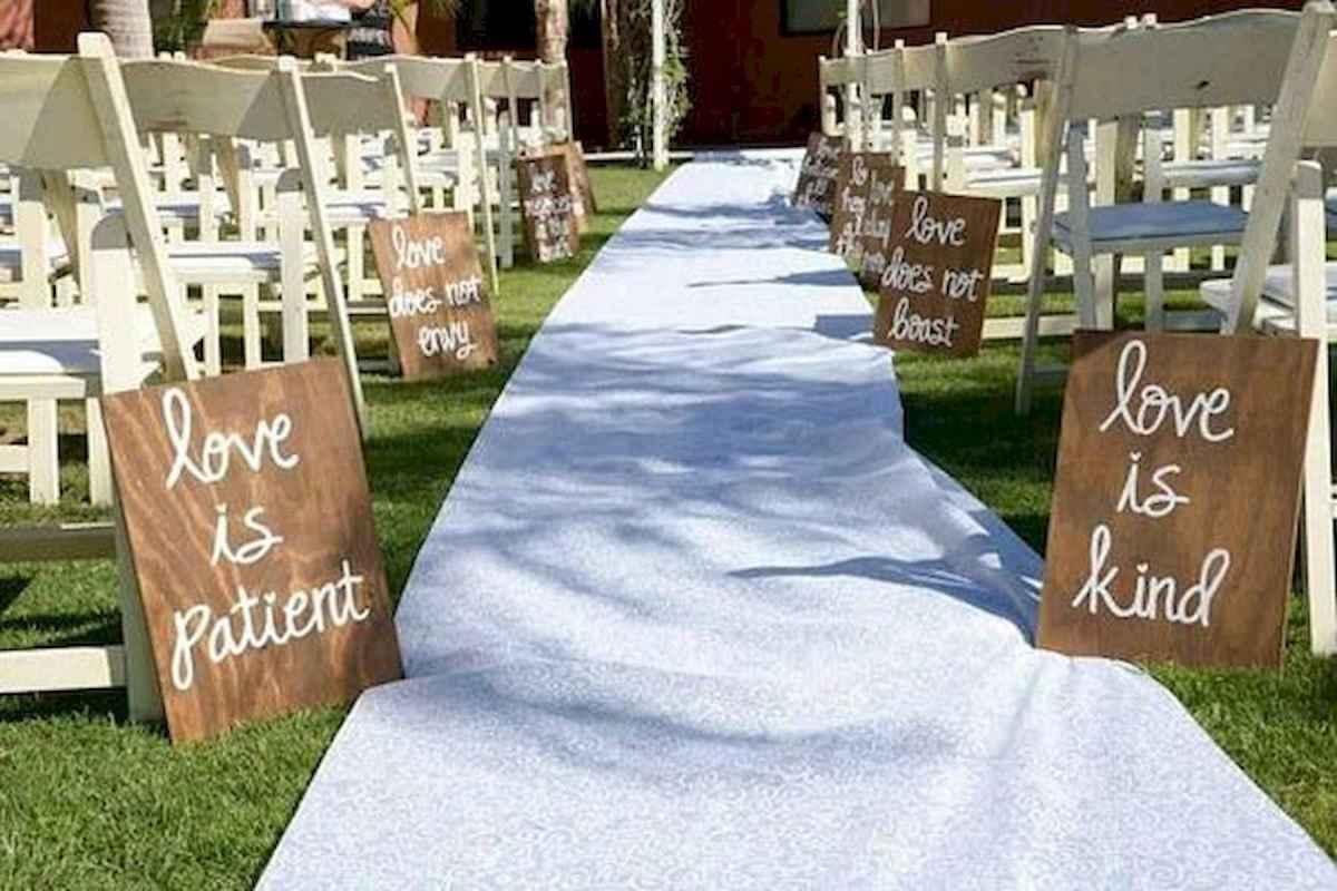 44 Stunning Backyard Wedding Decor Ideas On A Budget 22