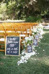 44 Stunning Backyard Wedding Decor Ideas On A Budget (42)