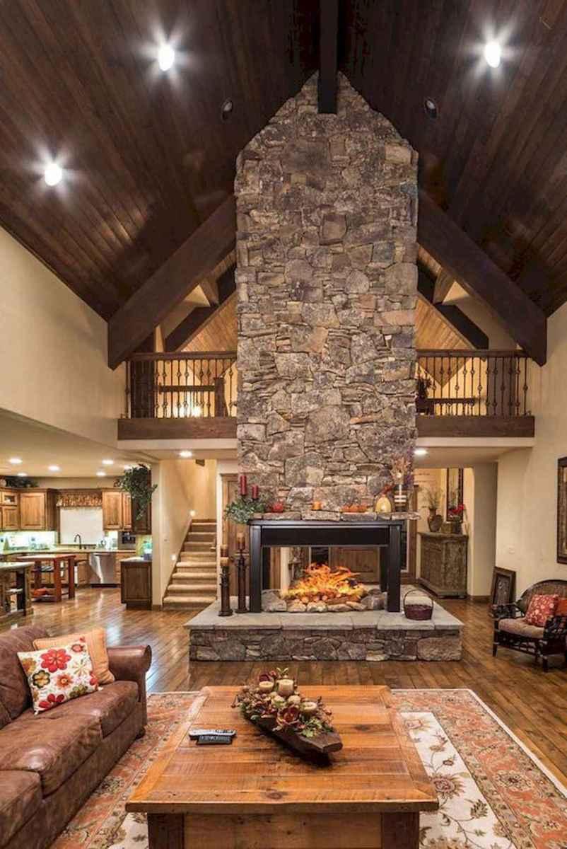 50 Best Log Cabin Homes Modern Design Ideas (14)