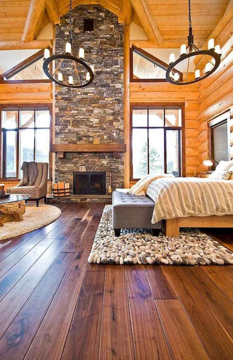 50 Best Log Cabin Homes Modern Design Ideas (23)