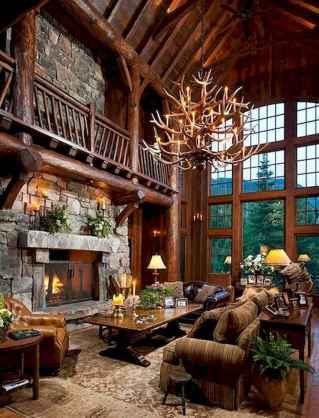 50 Best Log Cabin Homes Modern Design Ideas (29)