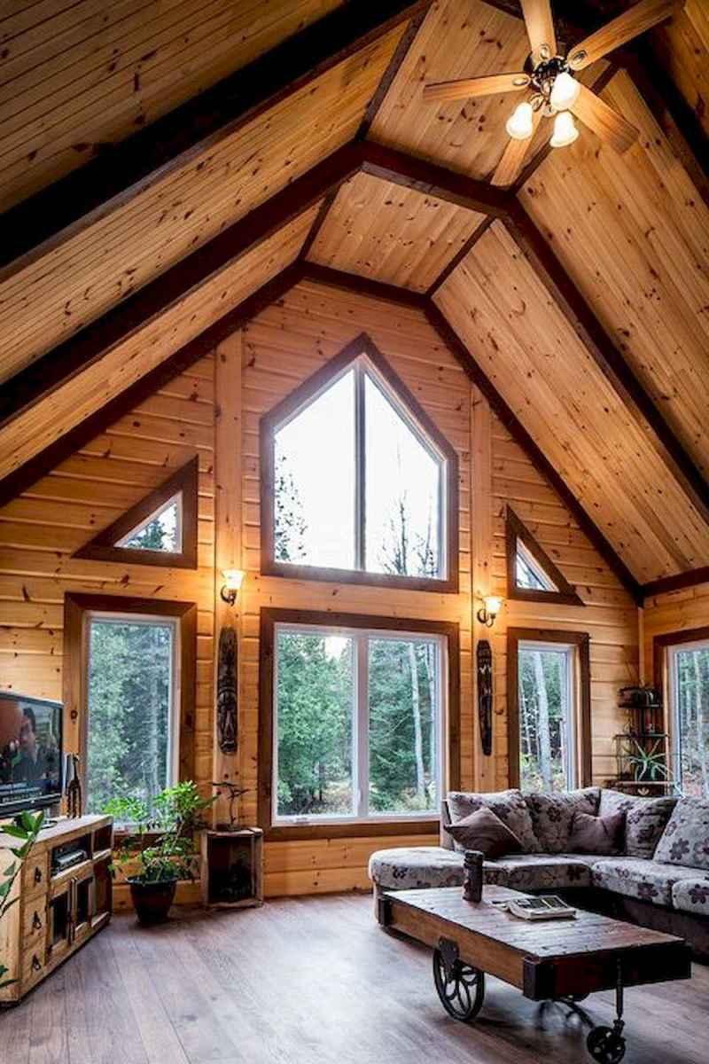 50 Best Log Cabin Homes Modern Design Ideas (33)