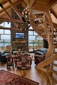 50 Best Log Cabin Homes Modern Design Ideas (52)