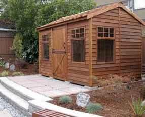 70 Fantastic Small Log Cabin Homes Design Ideas (20)