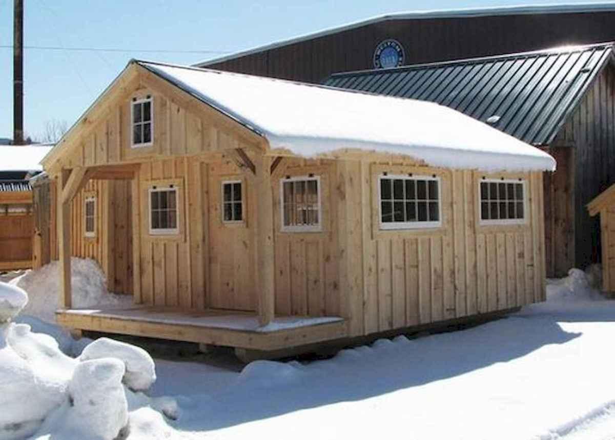70 Fantastic Small Log Cabin Homes Design Ideas (4)
