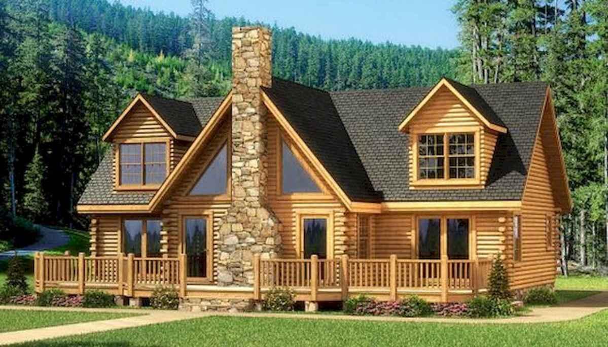 75 Best Log Cabin Homes Plans Design Ideas (15)