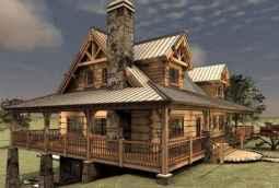 75 Best Log Cabin Homes Plans Design Ideas (27)