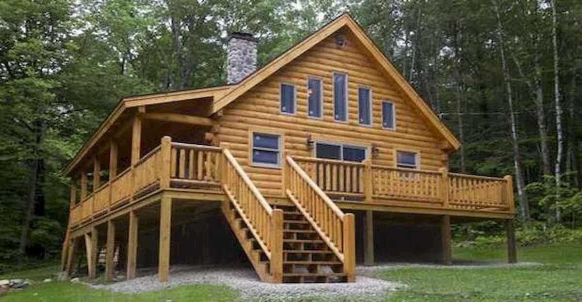 75 Best Log Cabin Homes Plans Design Ideas (29)