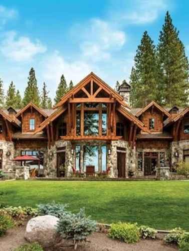 75 Best Log Cabin Homes Plans Design Ideas (32)